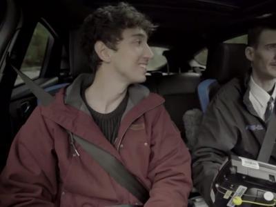 Ford Focus RS : un taxi hautes performances en vidéo