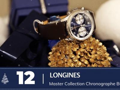 #12 Longines Master Collection Chronographe Bucherer Blue
