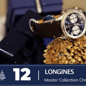#12 Longines Master Collection Chronographe Bucherer Blue