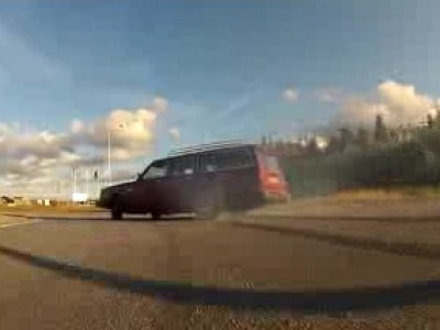 Drift en Volvo 245