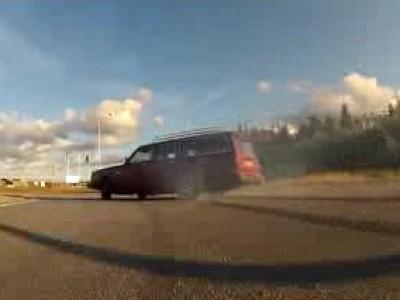 Drift en Volvo 245