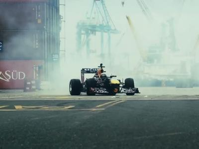 Carlos Sainz Jr. terrorise les docks de Lima en Red Bull RB7