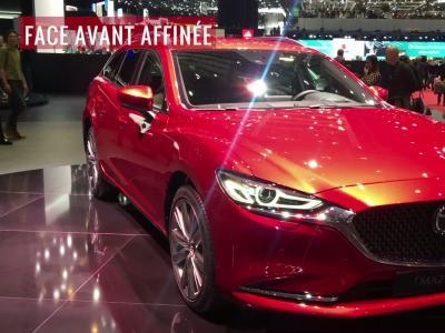La Mazda6 SW restylée en vidéo depuis le salon de Genève 2018
