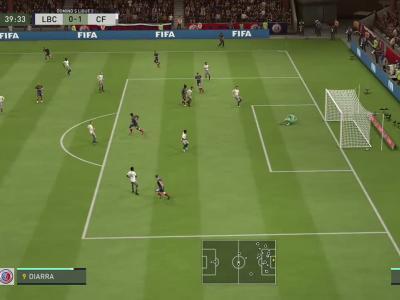 La Berrichonne de Châteauroux - Clermont Foot 63 sur FIFA 20 : résumé et buts (L2 - 38e journée)