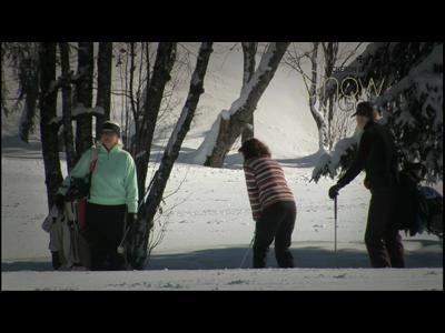 Deuxième Championnat du monde Snow Golf 2010 by Napapijri