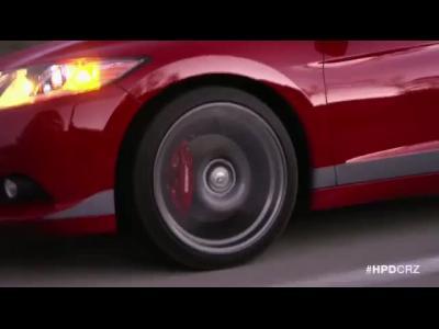 Le Honda CR-Z HPD suralimenté en vidéo