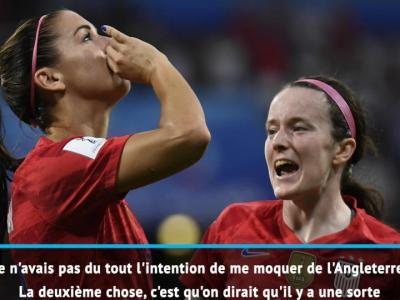 Coupe du Monde 2019 : la réponse cinglante d'Alex Morgan à ses détracteurs