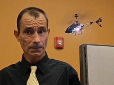 Un hélicoptère télécommandé par iPhone