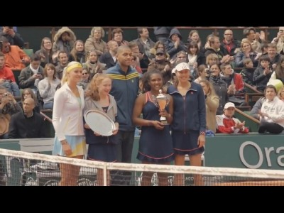 L'adidas junior tour 2013 à Rolland Garros