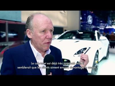 Entretien vidéo avec Ian Callum, l'initiateur du renouveau stylistique de Jaguar