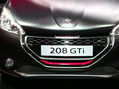 Mondial Auto 2014 : Peugeot 208 GTi 30th
