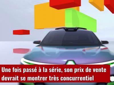Renault Kiger show-car : le petit SUV indien en vidéo
