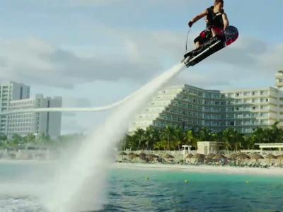 Un Hoverboard volant