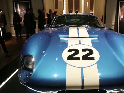 UpTime [S03E09] Baume & Mercier, exercice de style autour de la Shelby Cobra Daytona Coupé