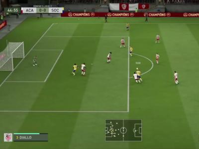 AC Ajaccio - FC Sochaux sur FIFA 20 : résumé et buts (L2 - 30e journée)