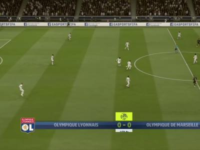 L1 - 6ème journée : notre simulation FIFA 20 de OL-OM