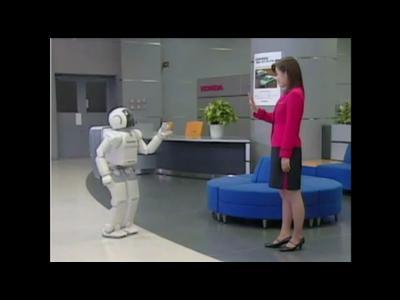 Les 10 ans d'Asimo le robot
