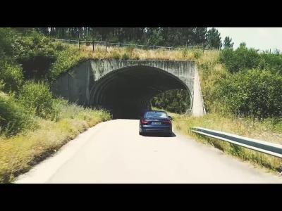 La nouvelle Audi A5 se balade à Porto