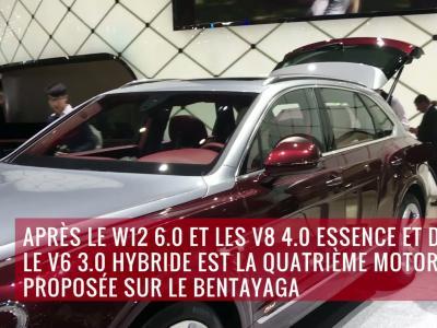La Bentley Bentayga PHEV en vidéo depuis le salon de Genève 2018