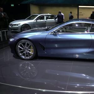 Francfort 2017 : BMW Série 8 Concept