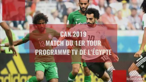 CAN 2019 : le programme TV des matchs de l'Egypte