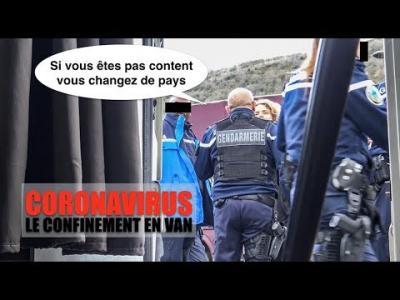 Expulsion d'un groupe de vanlifers en confinement et explications en vidéo