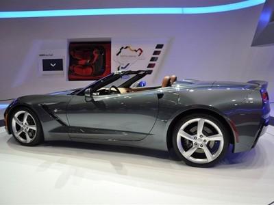 Genève 2013 : Chevrolet Corvette Stingray Convertible