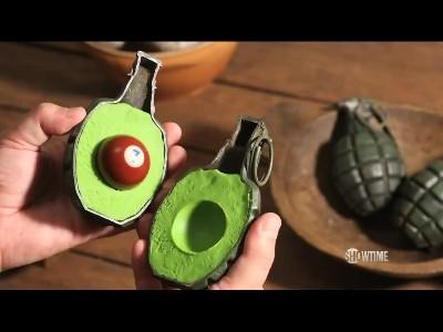 Un Guacamole explosif par PES