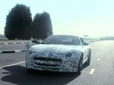 Martin Brundle découvre la Jaguar F-Type