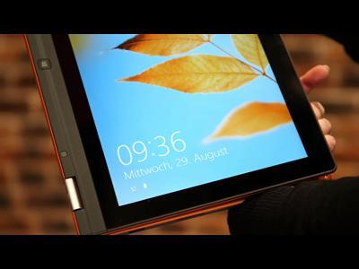 Du portable à la tablette avec Lenovo IdeaPad Yoga