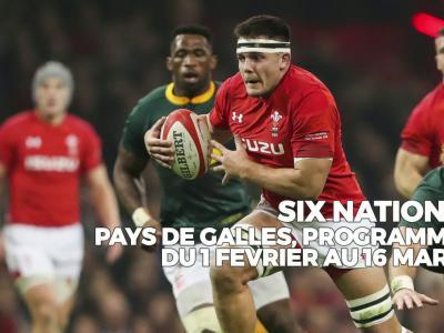 Tournoi des VI Nations 2019 : le calendrier du Pays de Galles