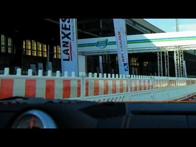 La Porsche Boxster E au Challenge Bibendum