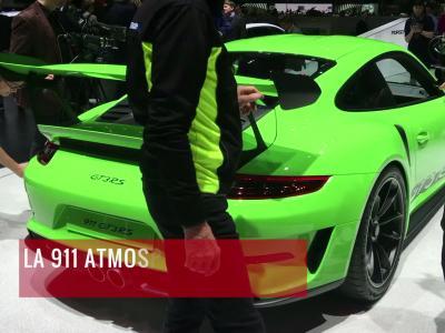 La Porsche 911 GT3 RS en vidéo depuis le salon de Genève