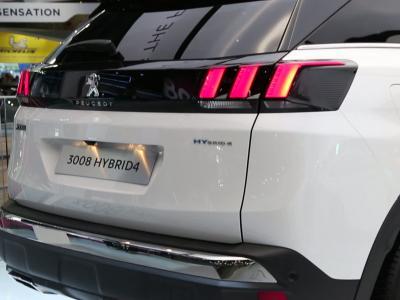 Mondial de l'Auto 2018 : la Peugeot 3008 GT Hybrid 4 en vidéo