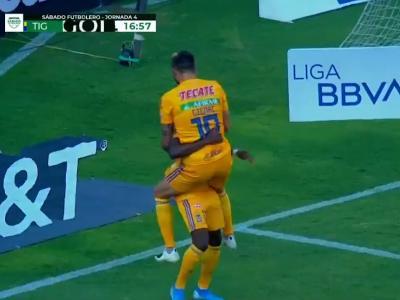 André-Pierre Gignac inscrit un triplé avec les Tigres !