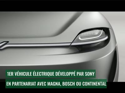 Sony Vision S : découverte du concept surprise du CES 2020