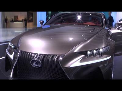 Lexus LF-CC Concept - Mondial 2012