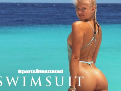Vita Sidorkina à Curaçao pour le magazine Sports Illustrated Swimsuit