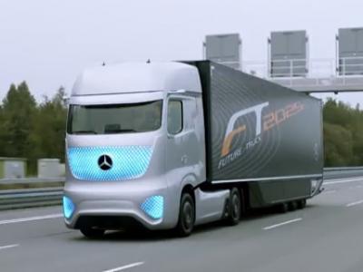 Incroyable : le camion de 2025 selon Mercedes