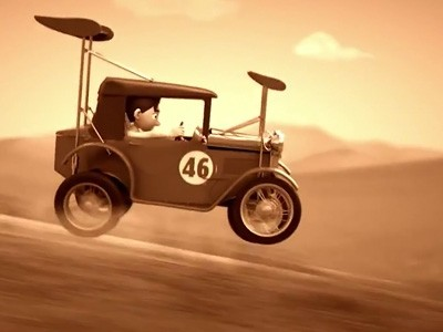 L'histoire de McLaren en animation (Bruce McLaren)