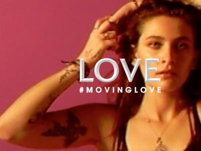 Paris Jackson #MOVINGLOVE