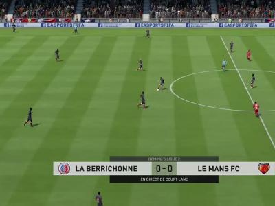La Berrichonne de Châteauroux - Le Mans FC sur FIFA 20 : résumé et buts (L2 - 34e journée)