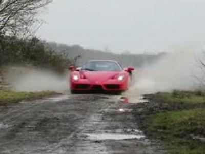 Session rallye en Ferrari Enzo
