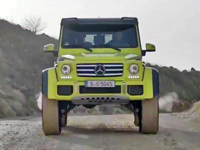 Le 4x4 extrême de Mercedes est en vente !