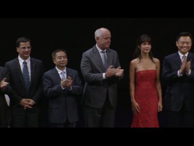 Sophie Marceau ambassadrice de Citroën en Chine