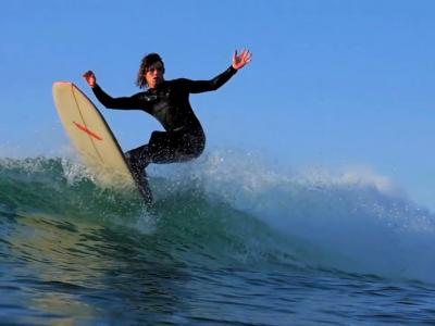 Session de surf en Gascogne