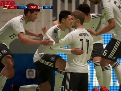 Allemagne - Suède : notre simulation sur FIFA 18