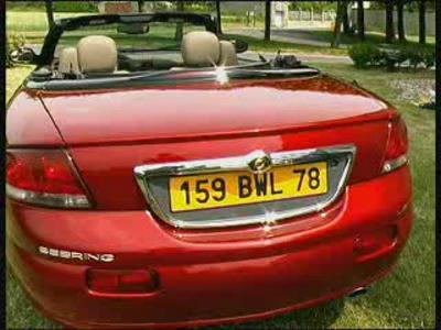 Essai Chrysler Sebring cabriolet