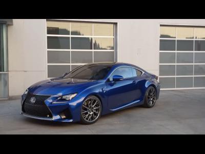 Lexus RC F : 450 ch et les allemandes en ligne de mire