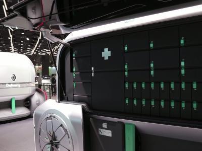 Mondial de l'Auto 2018 : le Renault EZ-Pro en vidéo